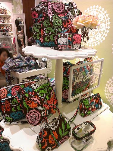 verabradley(ヴェラブラットリー)の2013年秋新作Heather(ヘザー)バッグを購入@速報レポ!