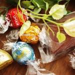 スイスのプレミアムチョコレートリンツのプチカドー贈り物にピッタリ!