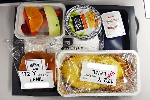 デルタ航空特別機内食低カロリー食LFML