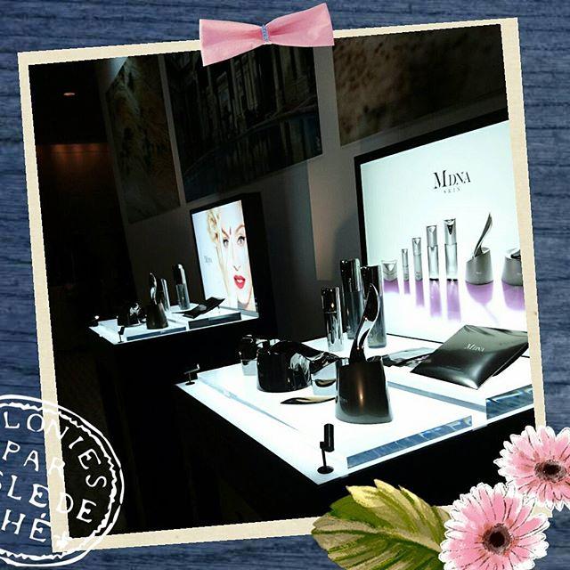 MDNA Skin の発表会。イタリアのモンティカティーニ原産のクレイが原料になってるそう。