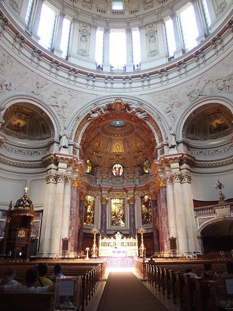 ベルリン大聖堂の内装