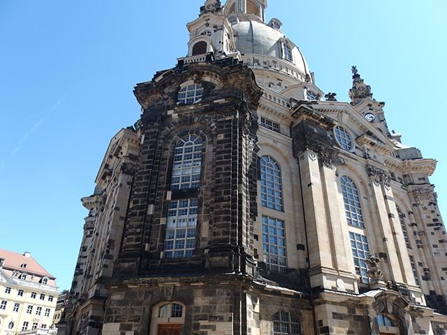 ドレスデンの教会