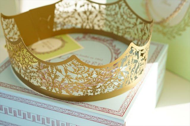 ラデュレのガレットデロワの王冠