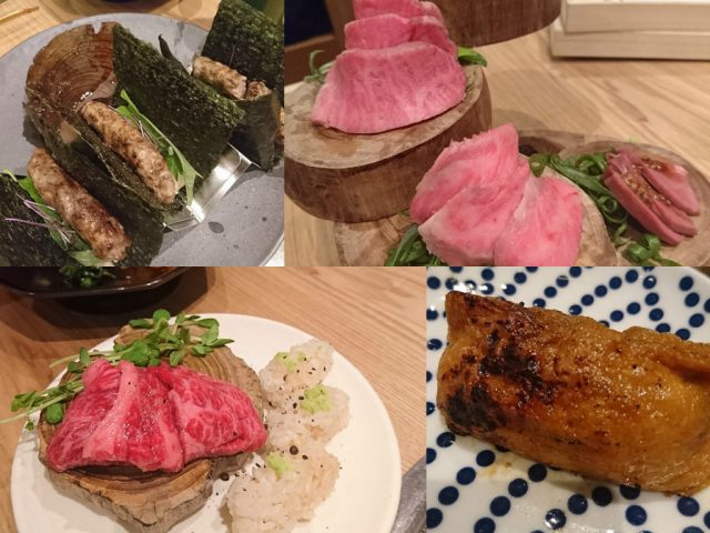 焼肉寿司 津田沼のお寿司